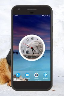 Dog Clock Live Wallpaper 1 0 Download Apk For Android Aptoide
