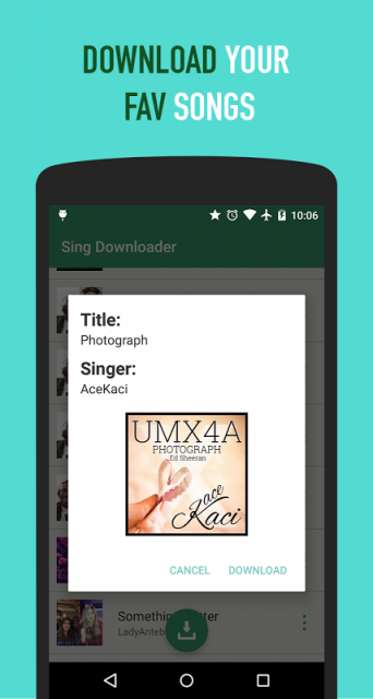 how to download smule songs