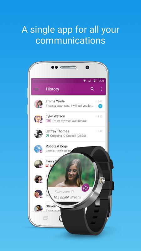 Swisscom iO screenshot 1