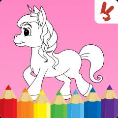 Boyama Kitab çocuk Tekboynuzlu 126 Android Aptoide Için Apk Indir