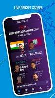 CricketNext – Live Score & News Screen