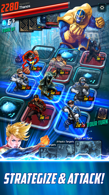 MARVEL Battle Lines screenshot 3