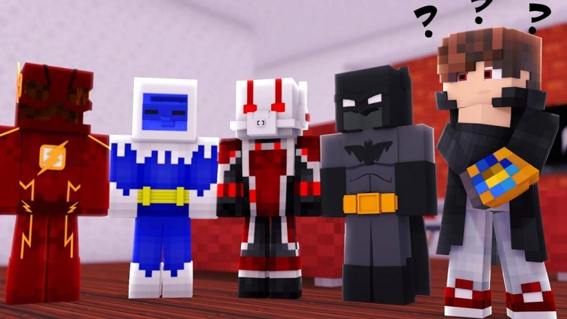 Superhero Skins For Minecraft Pocket Edition MCPE Download APK - Skins para minecraft pe red