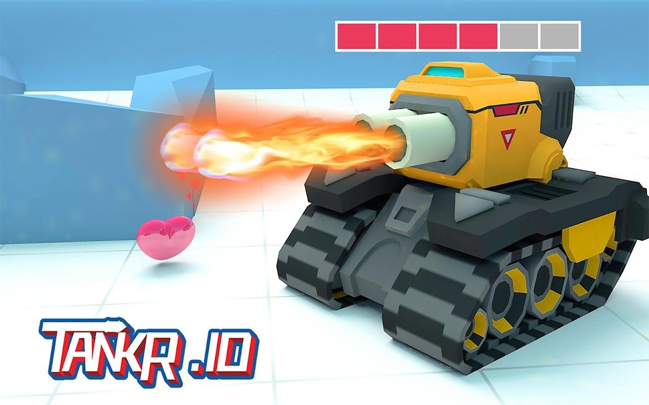 Tankr.io - Tank Realtime Battle screenshot 1