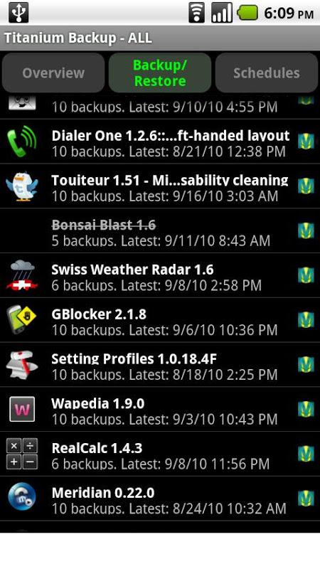 Titanium Backup PRO Key äÖƒ root screenshot 1