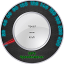 Light GPS Speedometer: kph/mph