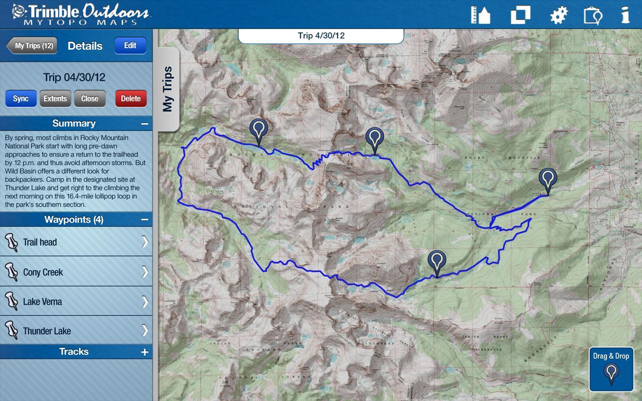 MyTopo Maps - Trimble Outdoors screenshot 2