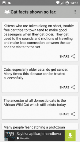 cat fact widget 1 1 download apk for android aptoide