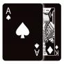 black casino icon