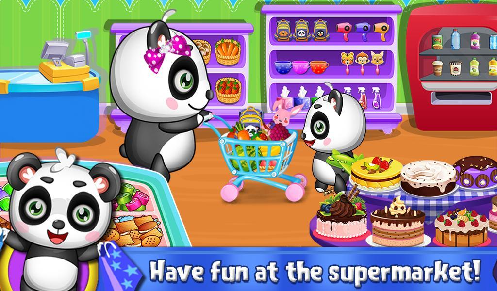 Sweet Baby Panda's Supermarket screenshot 1