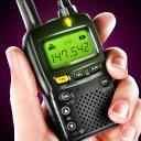 Funksprechgerät-Radio der Polizei virtuell