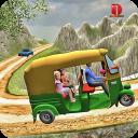 Grand Auto Off road Rickshaw Driving : Free Games