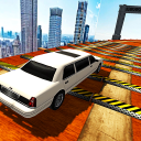 Extreme Limo Mega Ramp - Car Driving Games 3D