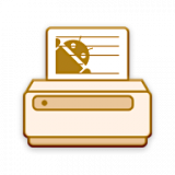 Android Print Icon