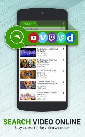 Dolphin Video - Flash Player 1 3 Download APK for Android