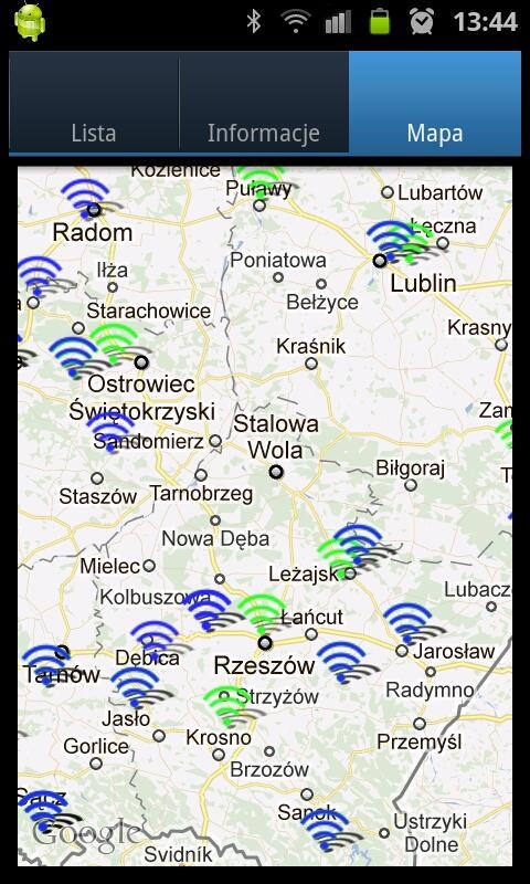 Repeater Radar screenshot 2