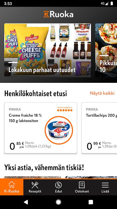 K-Ruoka screenshot 1