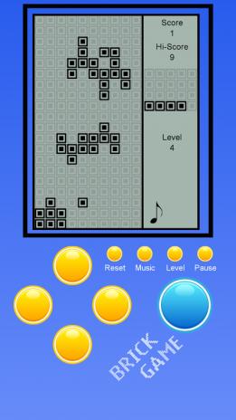... brick game tank 9999 in 1 screenshot 4 ...