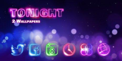 Tonight Go Launcher Theme 5
