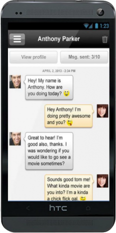 teenage chat dating network