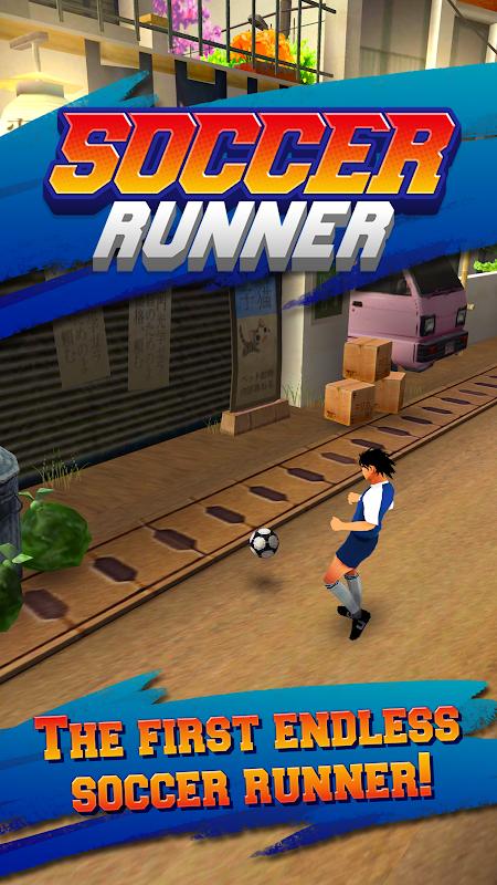 Soccer Runner: Football rush! screenshot 1