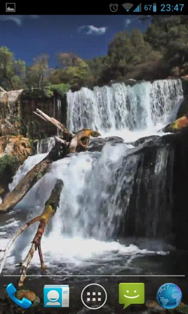 Beautiful waterfall live hd download apk for android for Decor live beautiful app