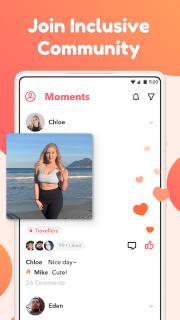 Curvy Singles Dating - Meet, Match & Chat Online screenshot 4