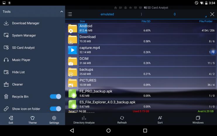 es file explorer pro mod apk