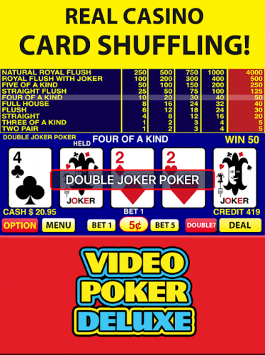 Free video poker games for android