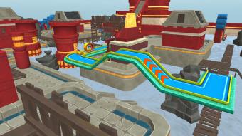 Mini Golf 3D City Stars Arcade Screenshot