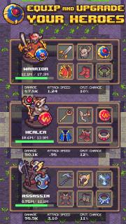 Idle Sword 2: Incremental Dungeon Crawling RPG screenshot 4