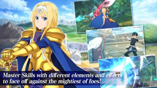 Sword Art Online Alicization Rising Steel screenshot 4