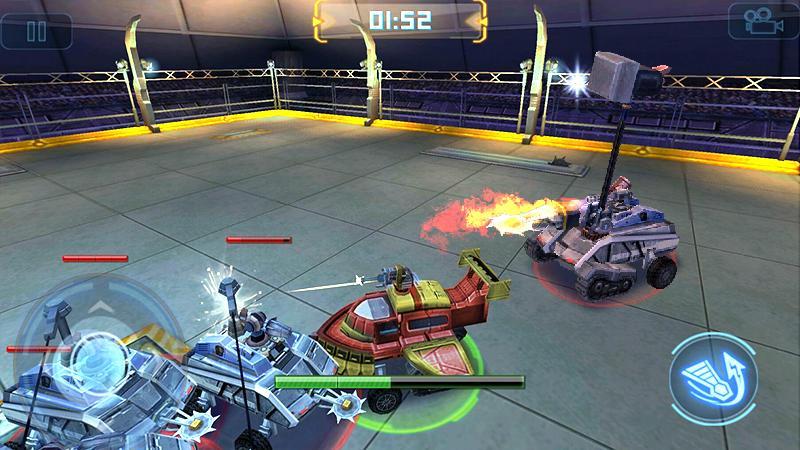 Guerra dos robôs screenshot 1