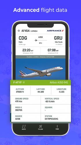 RadarBox · Live Flight Tracker & Airport Status screenshot 1