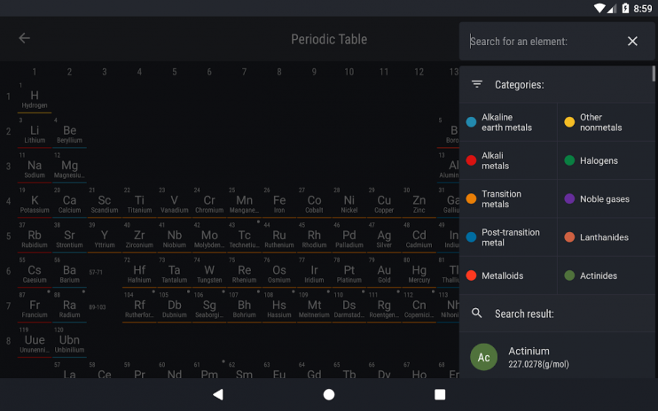 Periodic table 2018 0154 download apk for android aptoide periodic table 2018 screenshot 13 urtaz Image collections