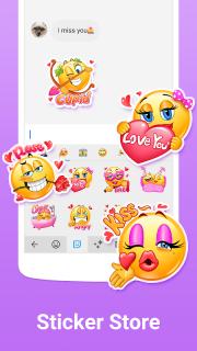 Simeji keyboard�Emoji & GIFs screenshot 5