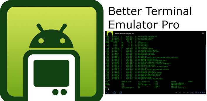 Better Terminal Emulator Pro 4 04 Download APK for Android
