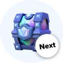 Stats Clash Royale Next chest