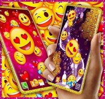 Emoji Live Wallpaper ❤️ Wink Emoji Hearts Themes Screen