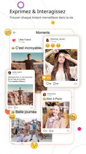 Likee - Laissez-vous briller screenshot 9