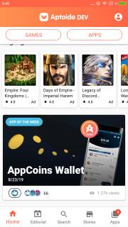 Aptoide Dev screenshot 2