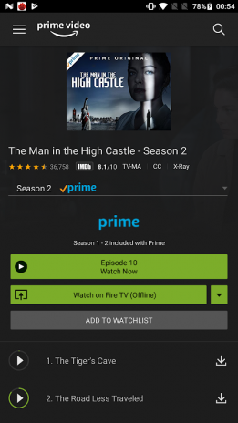 Amazon Prime Video 3 0 254 64141 Download APK for Android