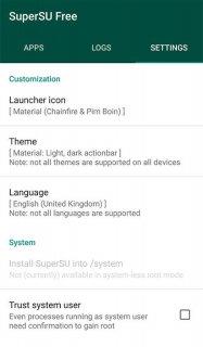 SuperSU screenshot 12
