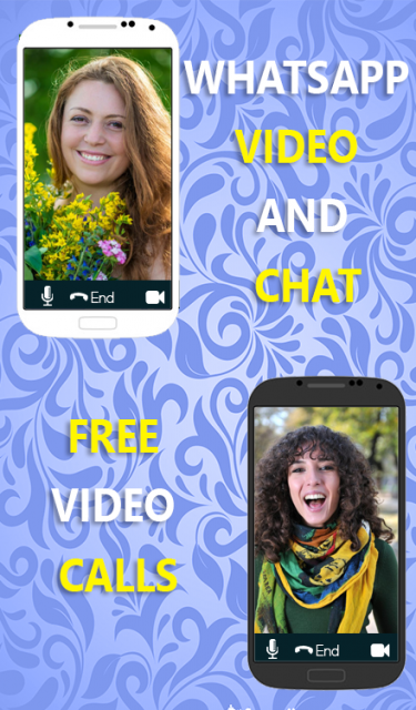 how to make a video call with whatsapp