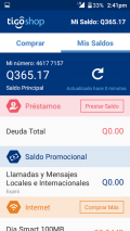 Tigo Shop Screenshot