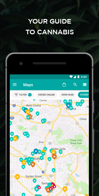Weedmaps Marijuana Cannabis and Weed Reviews screenshot 1