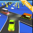 Road Cross Traffic Rush 3D Super Fun Game.