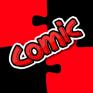 comic puzzle icon