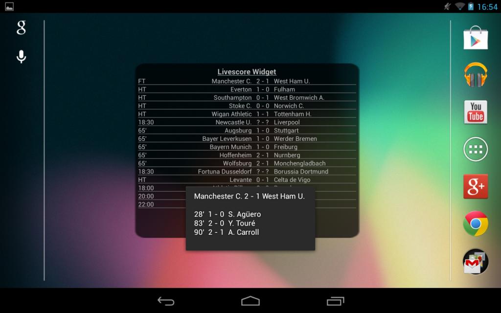 livescore download