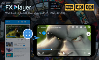 FX Player - video player and stream, chromecast Screen